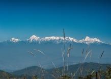 View of Trishul & Nanda Devi Peaks